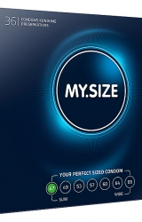 My Size - Natural Latex Condom 47 Width 36 pcs