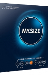 My Size - Natural Latex Condom 57 Width 36 pcs