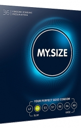 My Size - Natural Latex Condom 49 Width 36 pcs