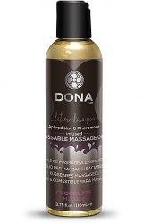 Dona - Kissable Massage Oil Chocolate Mousse 125 m