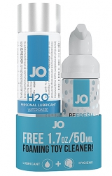System Jo - H2O Lubricant 120 ml and FREE toy cleaner 50 ml