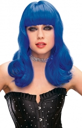Perry Wig - Blue