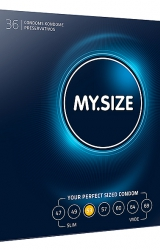 My Size - Natural Latex Condom 53 Width 36 pcs