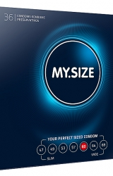 My Size - Natural Latex Condom 60 Width 36 pcs