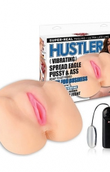 Hustler - Vibrating Spread Eagle Pussy & Ass