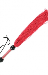 S&M - Medium Rubber Whip Red